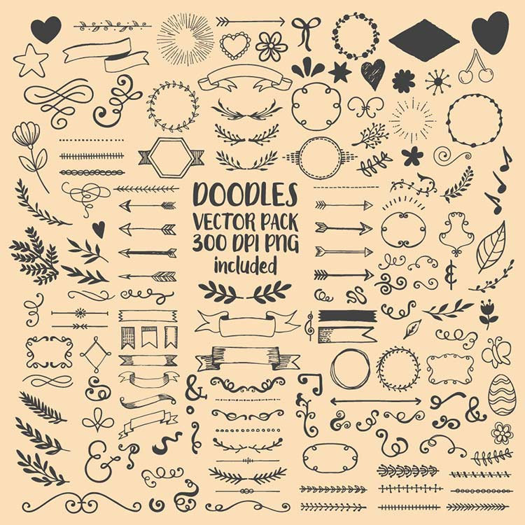 750x750 Hand Drawn Scribble Sketch Drawing Doodle Clipart Clip Art