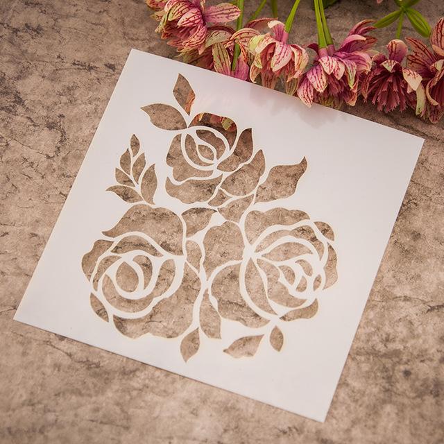 640x640 Scrapbook Sketchbook Painting Drawingampcolor Spray Painted Rose