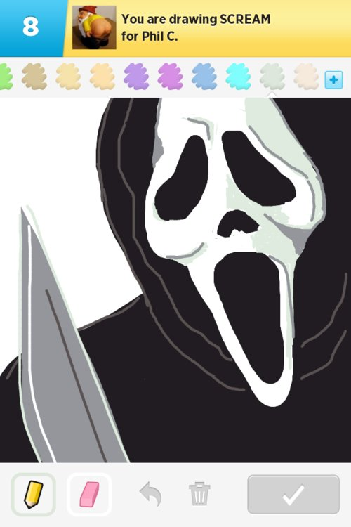 500x750 Scream Drawings