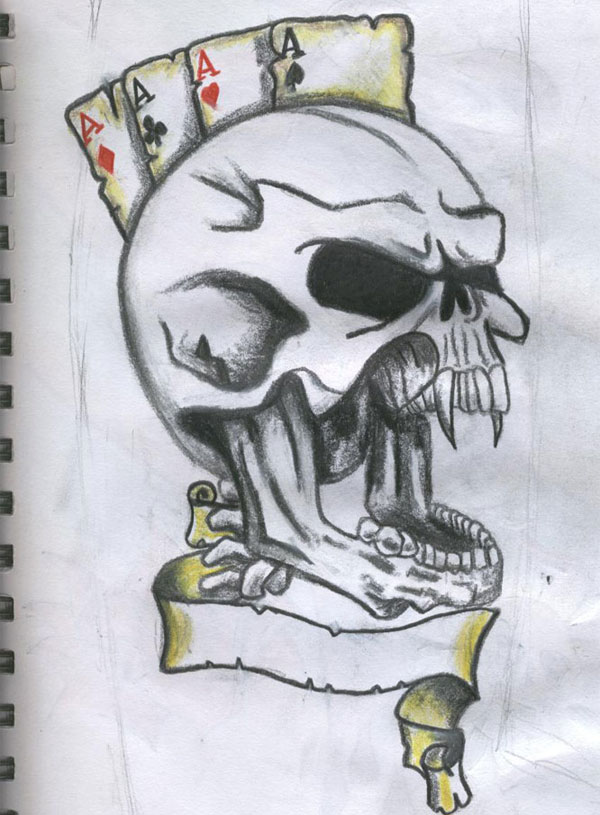 Screaming Skull Drawing At Getdrawings Com Free For Personal Use
