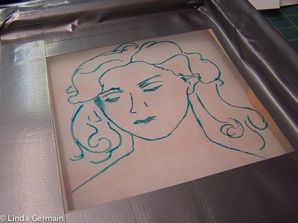 432x324 Drawing Into Screen Print
