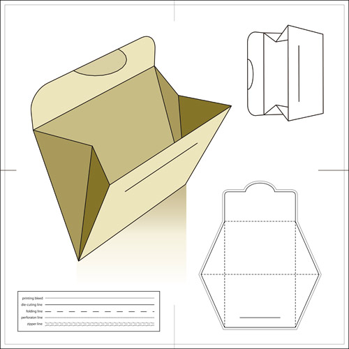 500x500 Different Patterns For Various Envelopes, Cd Covers, Etc. You Need