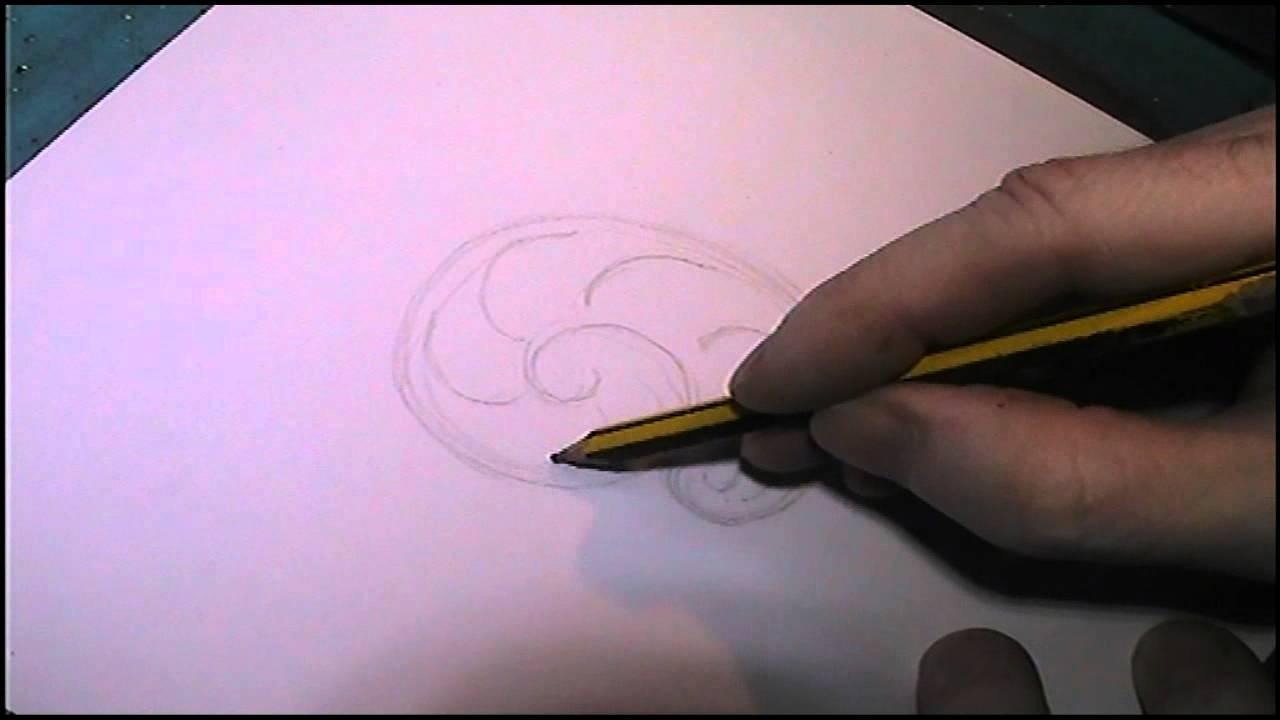 1280x720 Basic Scrollwork Tutorial Drawing Formula By Shaun Hughes