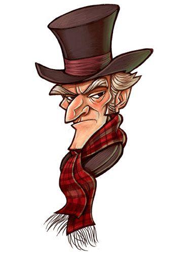 357x500 Grumpy Scrooge A Christams Carol Craft