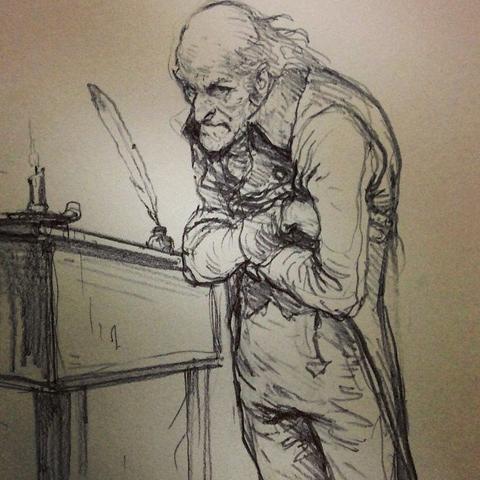 480x480 Scrooge! Art Of Karl Kopinski