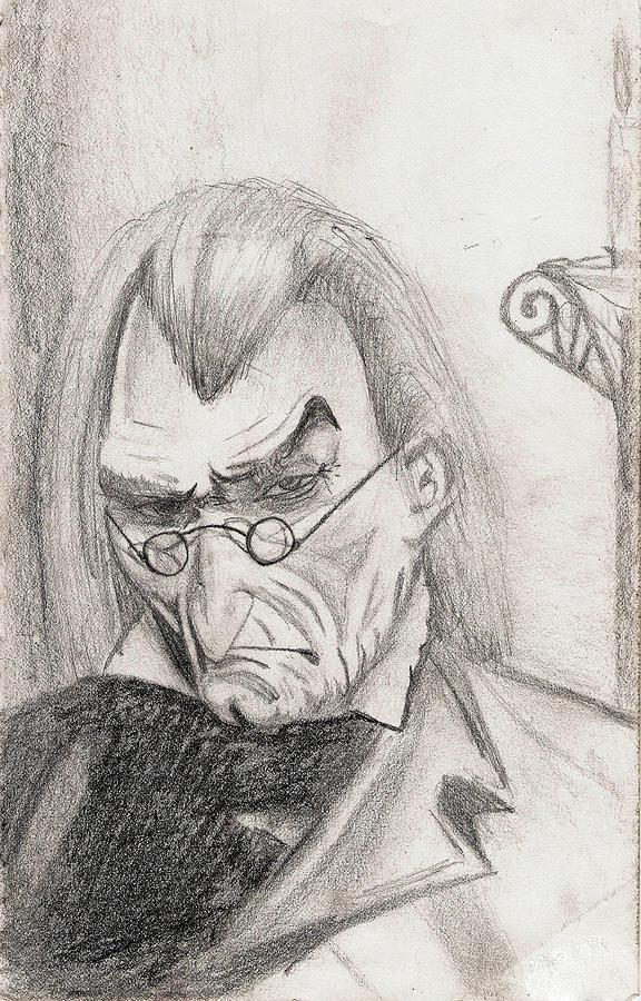 576x900 Scrooge Drawing By Michael Mckenzie