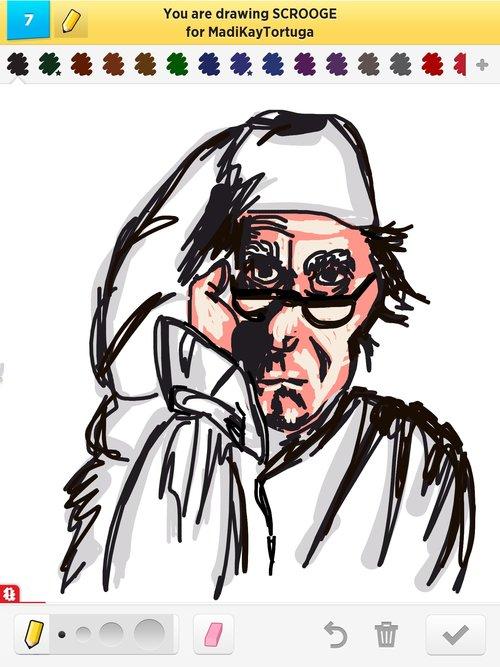 500x667 Scrooge Drawings