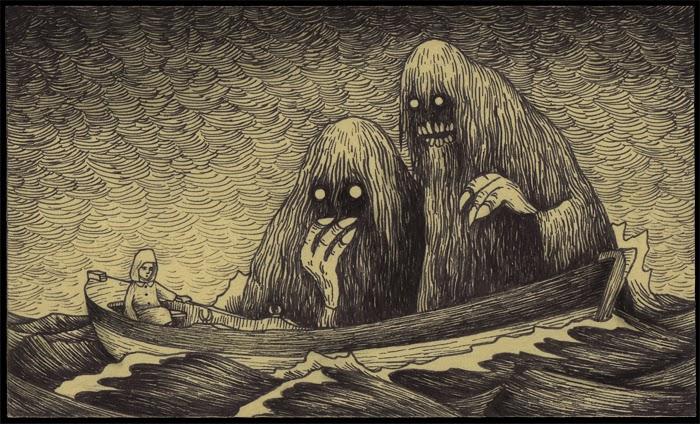 700x424 Gypsies Amp Kerosene Monster Drawings On Post It Notes