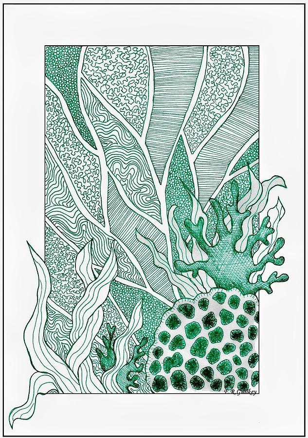 Sea Plants Drawing at GetDrawings.com | Free for personal use Sea ...
