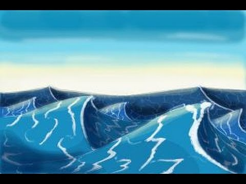 480x360 How To Draw Ocean Waves