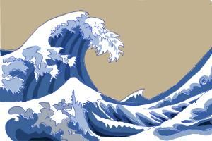 300x200 How To Draw Japanese Waves.jpg Wave Drawings