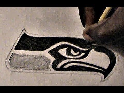 480x360 How To Draw Seattle Seahawks Logo