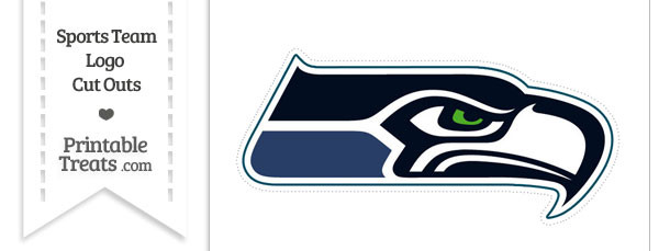 610x229 Large Seattle Seahawks Logo Cut Out Printable