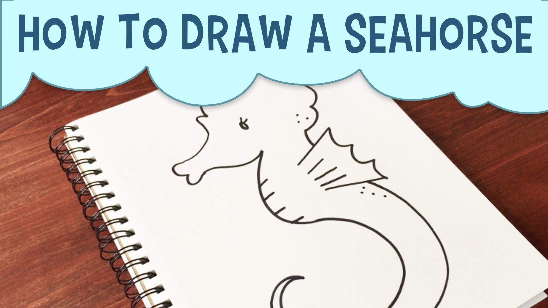 Seahorse Drawing At GetDrawings