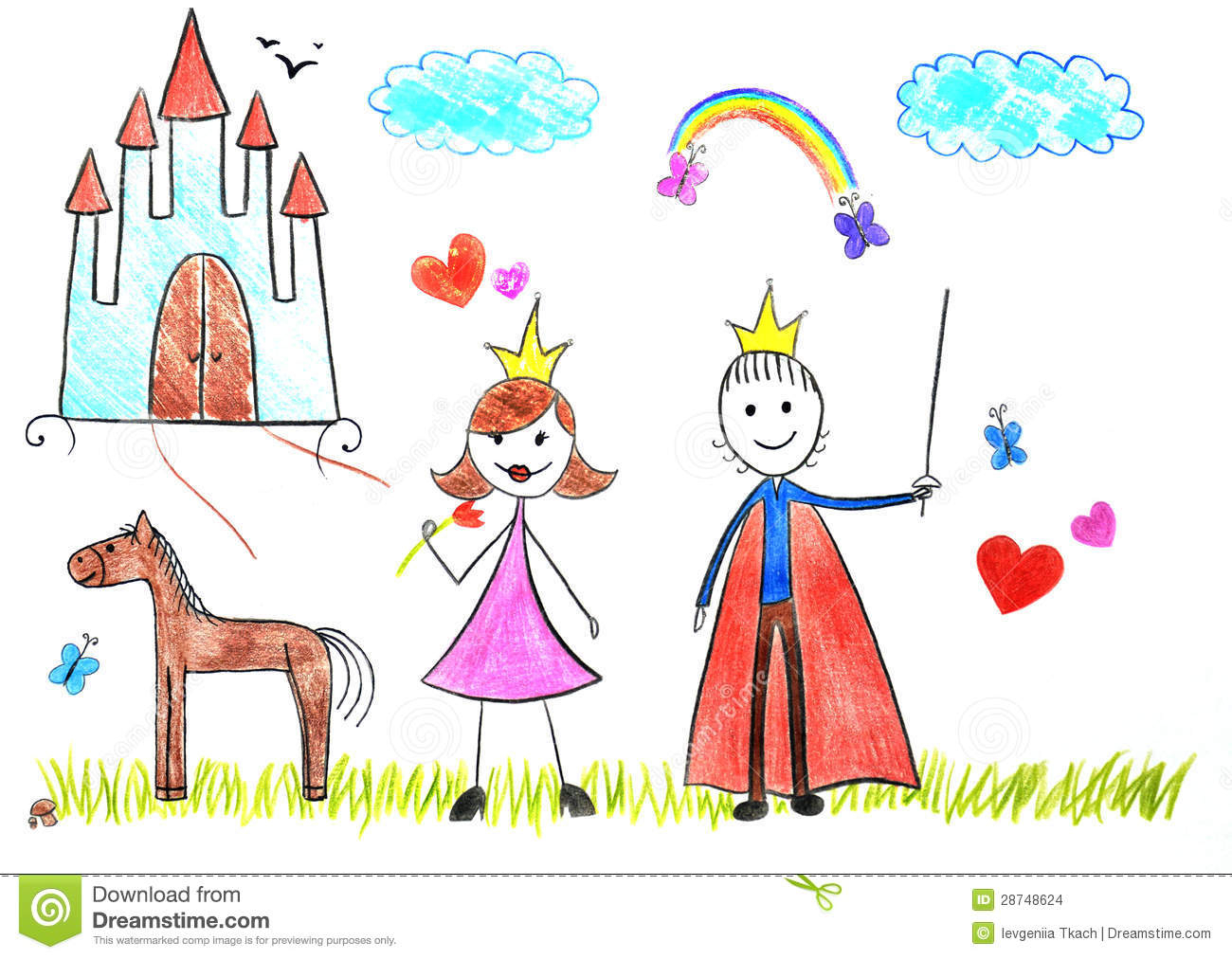 1300x1012 Picture Of Drawing For Kid Simple Kids Drawings Princess