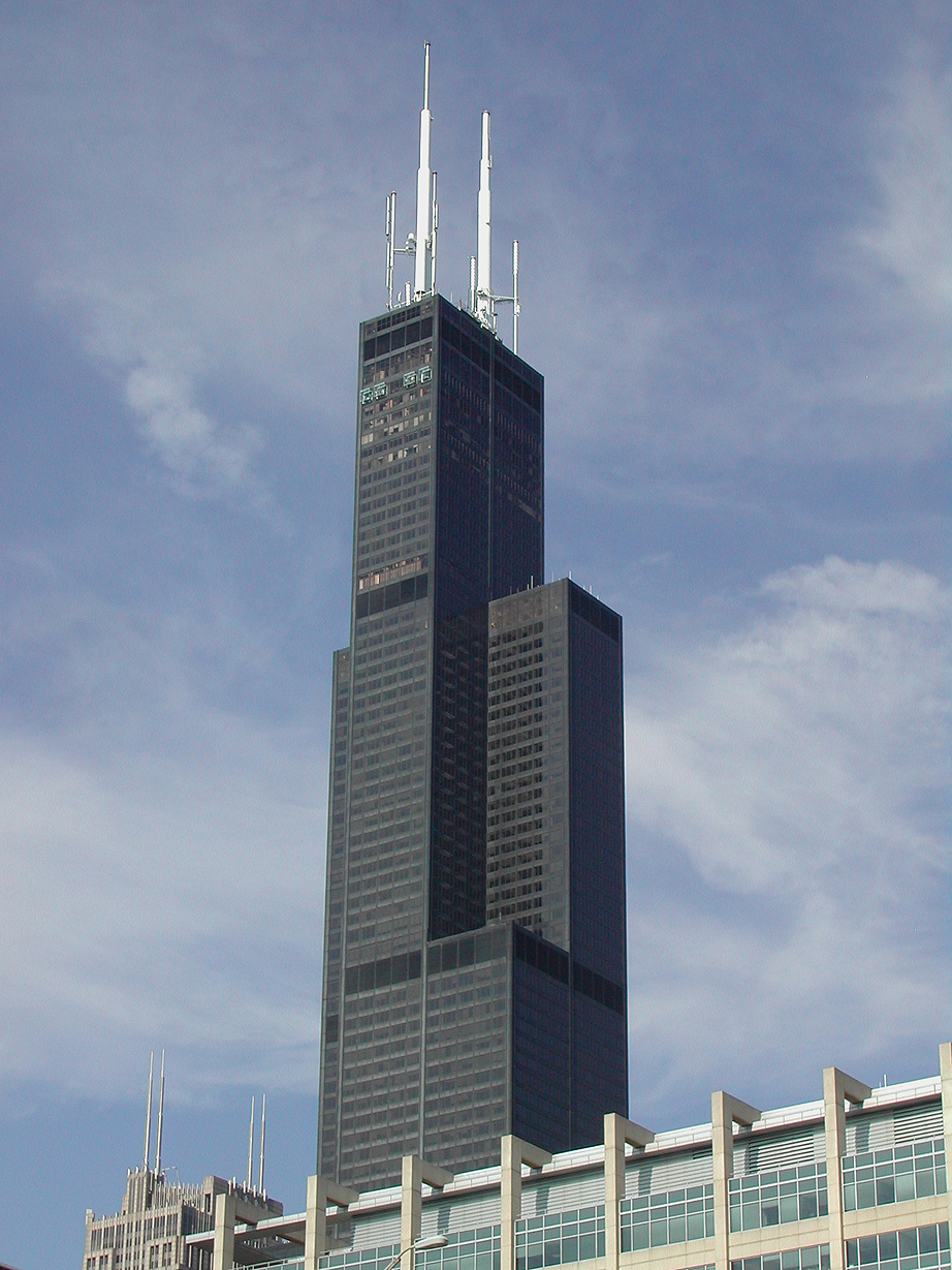 922x1229 Chicago Willis Tower (Formerly Sears Tower) 1,451 Ft 442 M
