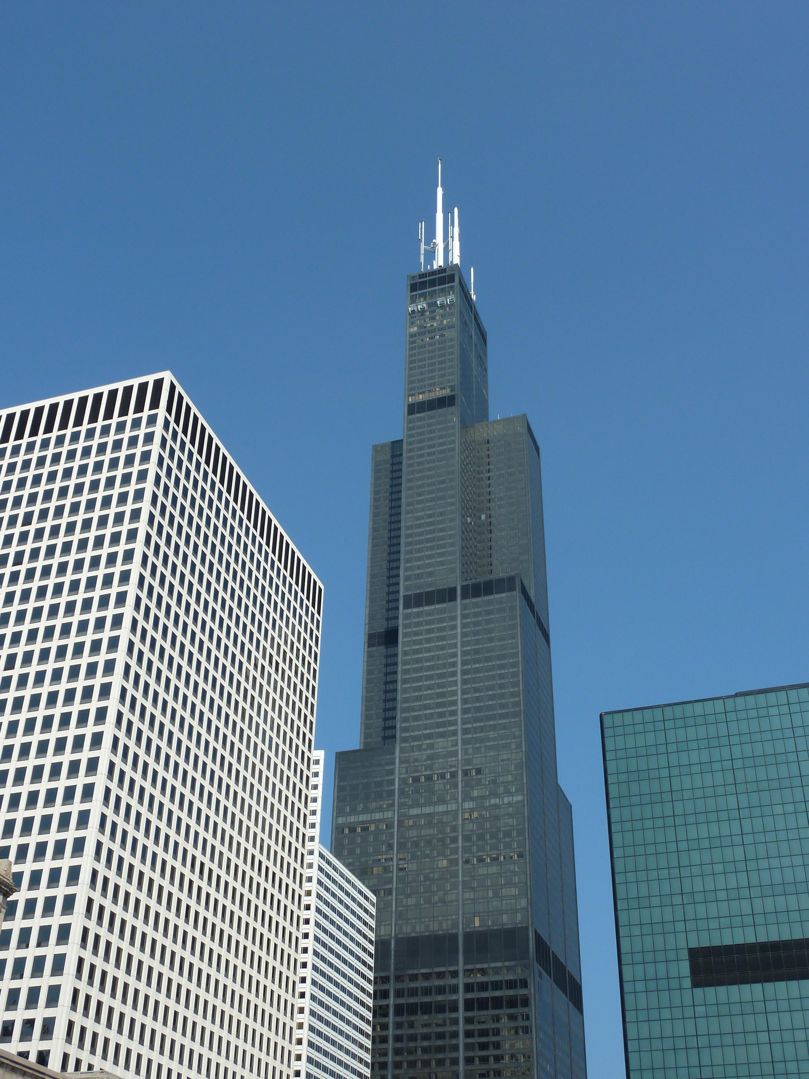 2736x3648 The Willis Tower Blueprint Chicago