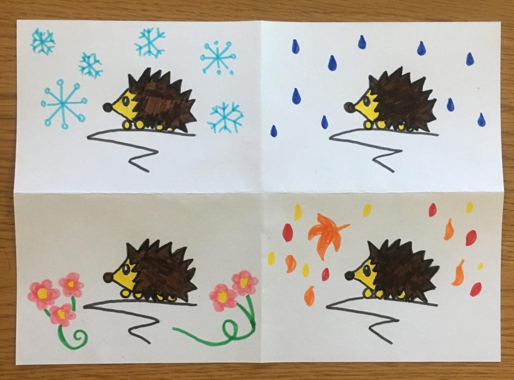 1024x758 Four Seasons Drawing