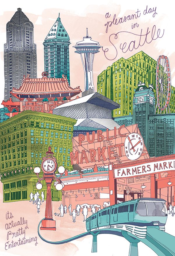 600x875 Pleasant Seattle Poster