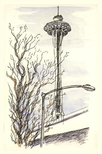 400x604 Seattle Sketchbook Sketching And Sketchbooks
