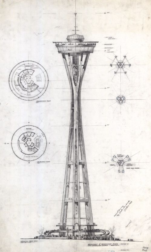 499x832 Century 21 Exposition (Seattle, Wash.), Design For The Space