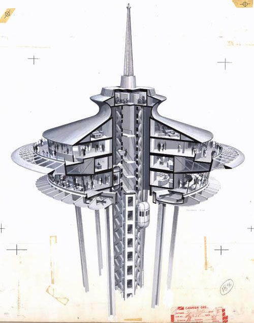 500x634 Icon Space Needle