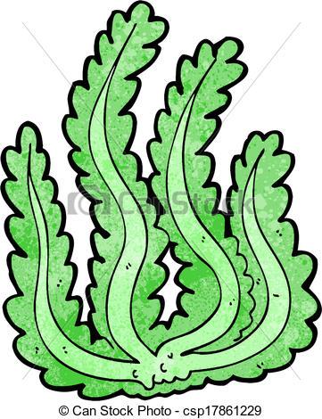 361x470 Cartoon Seaweed Vector Illustration