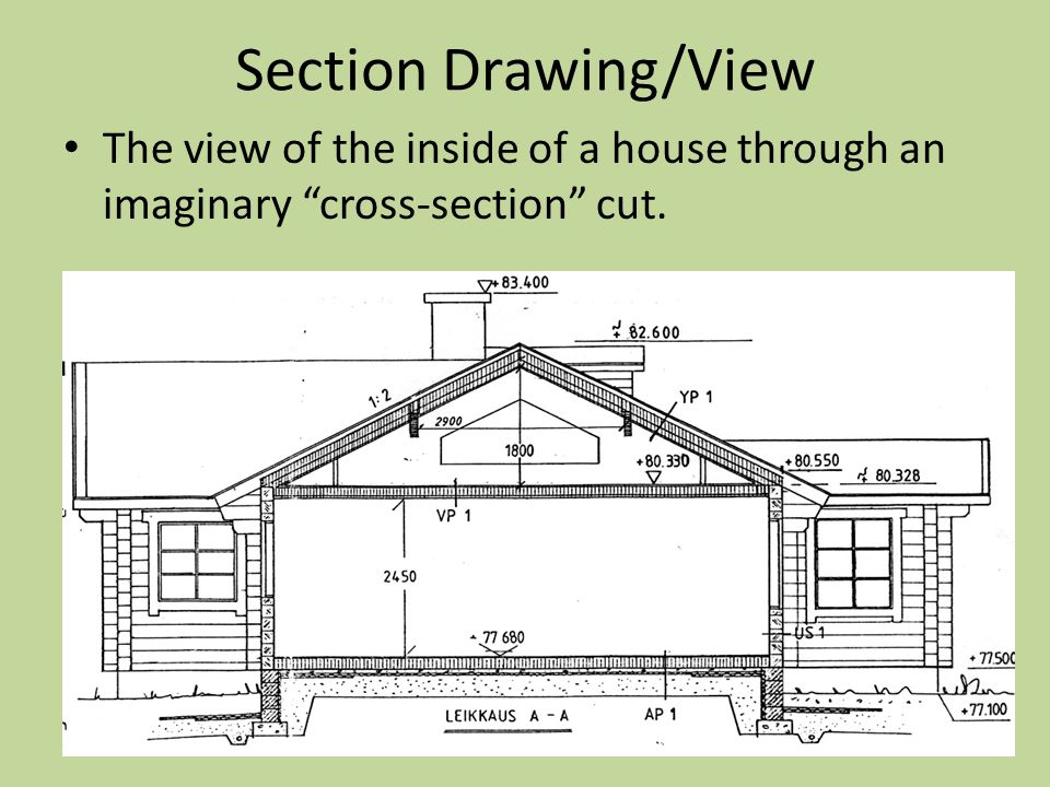 960x720 Objectives Components Of Architectural Drawings.
