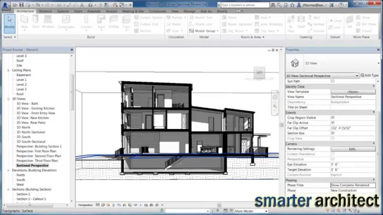 1280x720 Revit Tutorial Creating A Section Presentation Drawing In Less