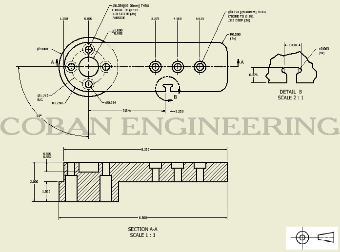 697x517 Technical Drawings Views,detail View,broken Out Section View