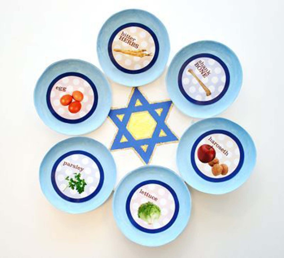 1101x1000 15 Diy Passover Seder Plates Your Kids Will Love To Make Huffpost