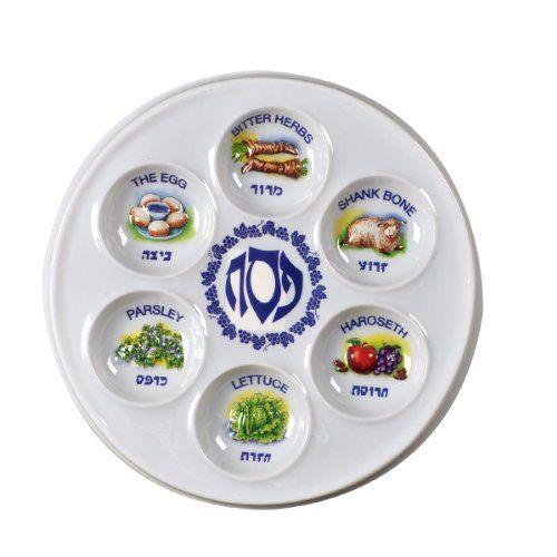 500x500 Plastic Disposable Passover Seder Plates