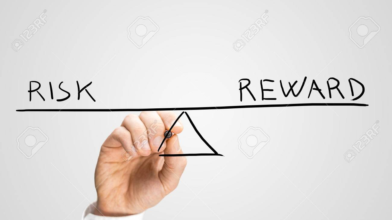 1300x731 Diagram Of A Seesaw Showing Risk And Reward In Perfect Equilibrium