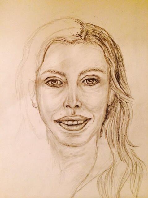 478x640 How To Draw A Self Portrait