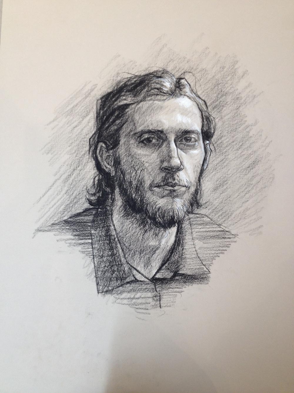 1000x1333 Student Work Life Drawing Nick Reszetar