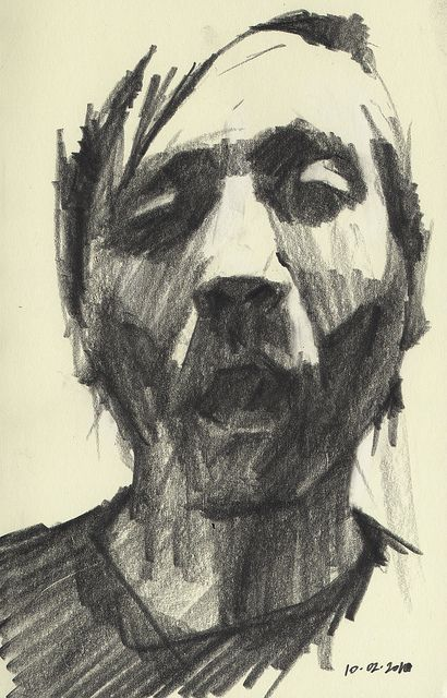 410x640 287 Best Impressive Charcoal Drawings Images