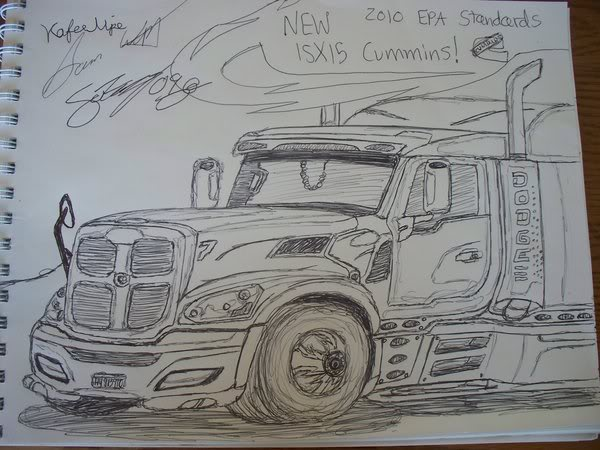 600x450 2010 Dodge Concept Semi Sw Drawings Amp Designs