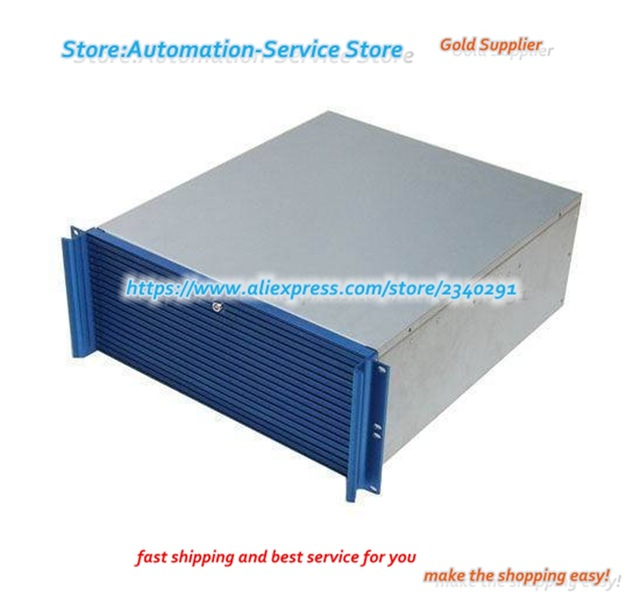 640x611 4u Industrial Server Chassis Support Soft Plug High End Aluminum
