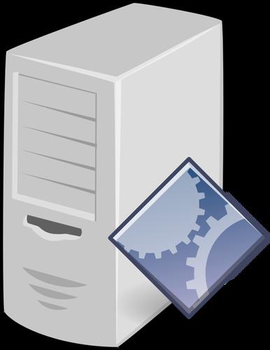 386x500 Application Server Vector Drawing Public Domain Vectors