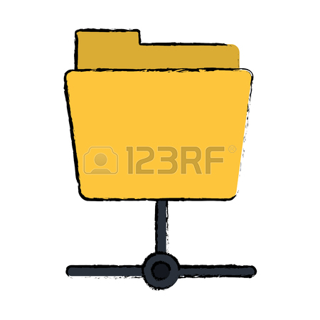 450x450 Drawing Computer Internet Security System Technology Vector