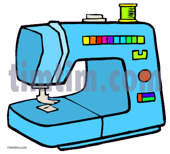 573x520 Free Drawing Of A Sewing Machine From The Category Hobby Amp Sewing