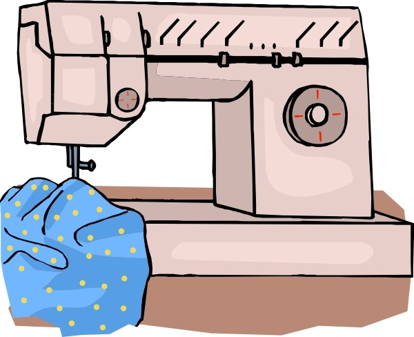 600x488 Sewing Machine Clip Art Free Vector In Open Office Drawing Svg