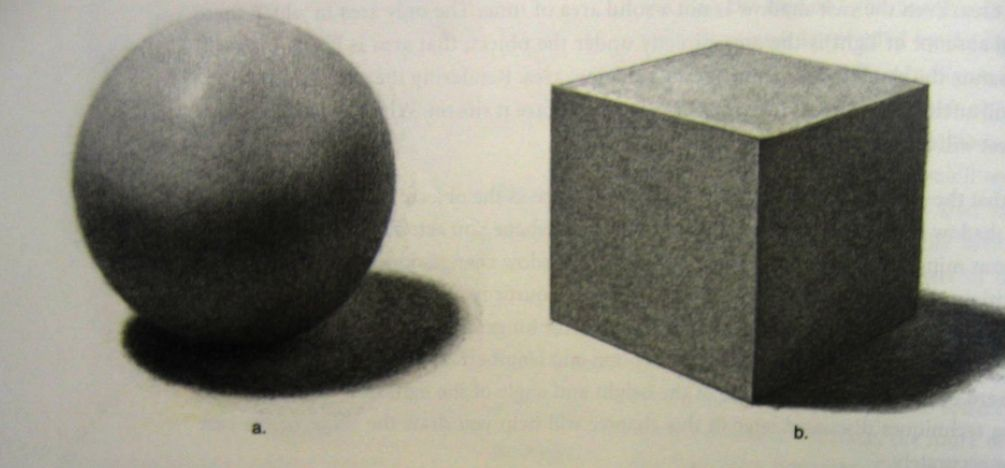 1005x468 Sphere And Cube In Chiaroscuro Shaded Drawing Arty Antics