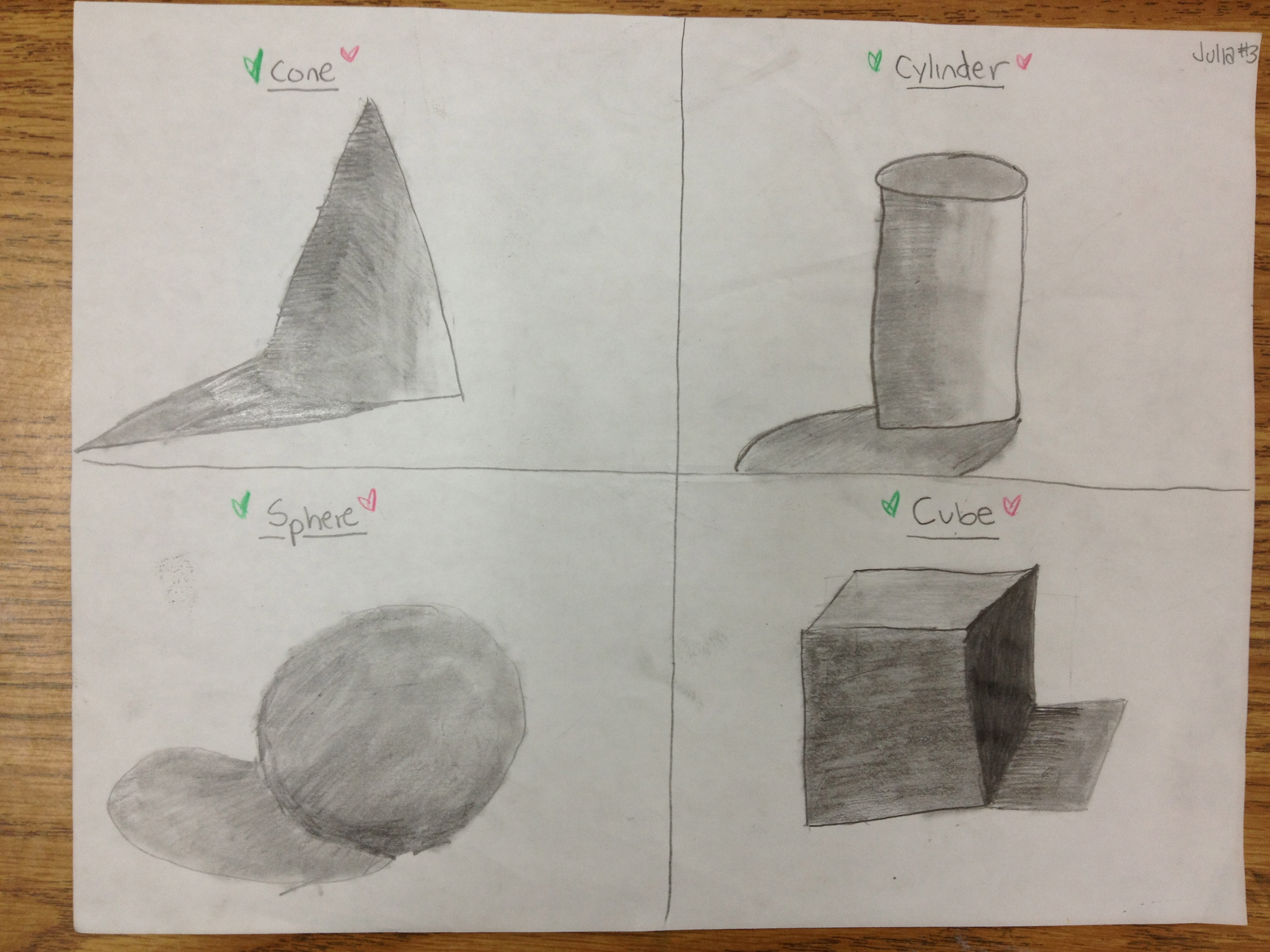 3264x2448 Drawing And Shading Forms