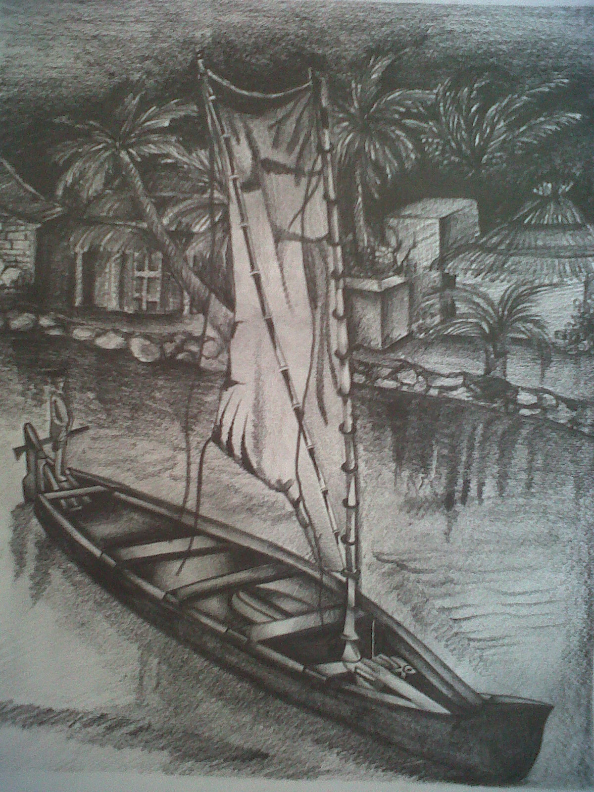 1200x1600 Pictures Pencil Shaded Drawings Of Sceneries,