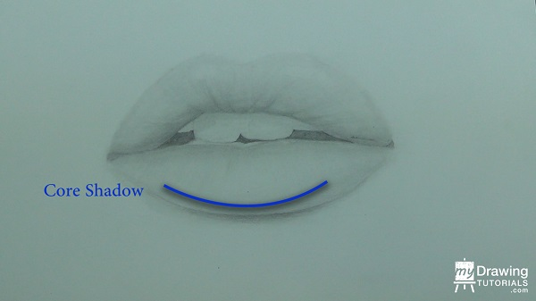 600x337 How To Draw Realistic Lips (Glossy Lips) My Drawing Tutorials