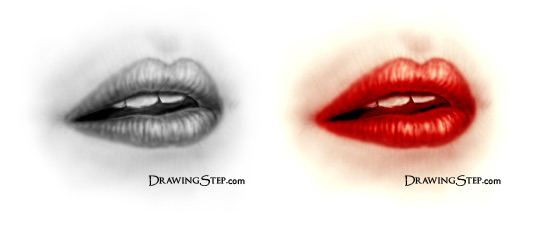 540x227 How To Draw Lips Step By Step