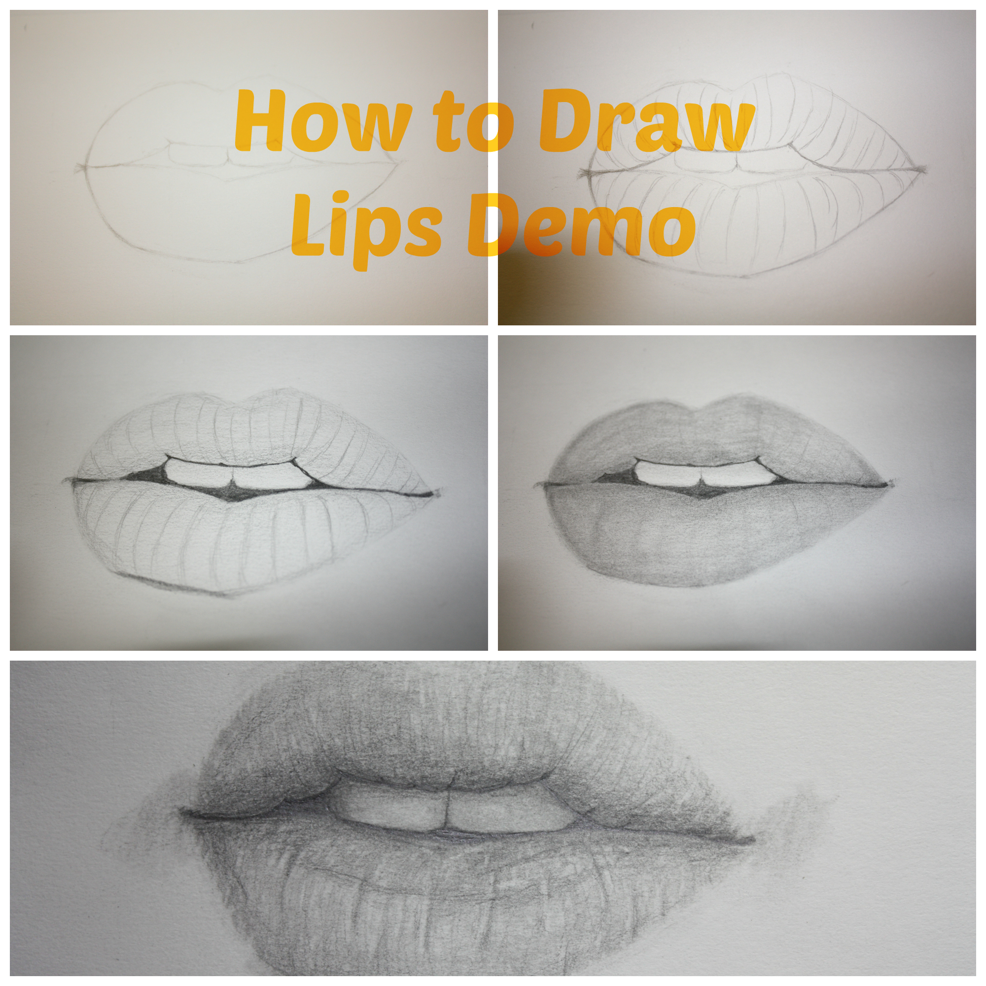 2000x2000 How To Draw Realistic Lips Drawing Tutorial Paint Into A Corner