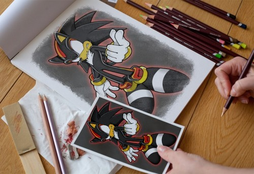 500x344 Shadow The Hedgehog Images Shadow Drawing Wallpaper And Background