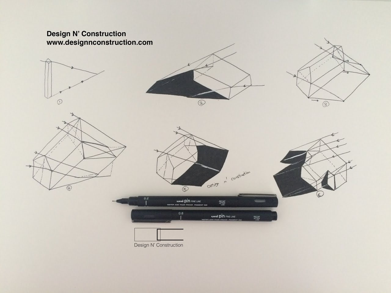 1280x960 How To Draw Shadows In Axonometric Perspective
